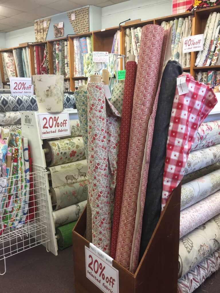 Heathcotes soft furnishing fabrics