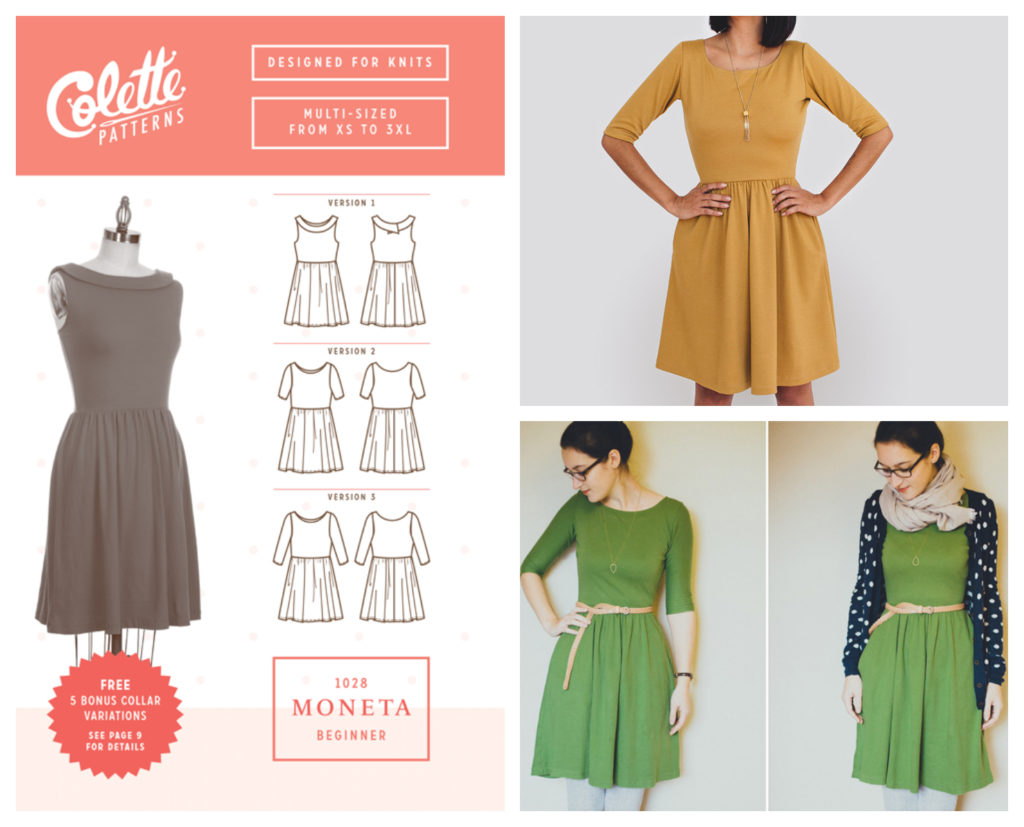 Collette's Moneta Dress pattern