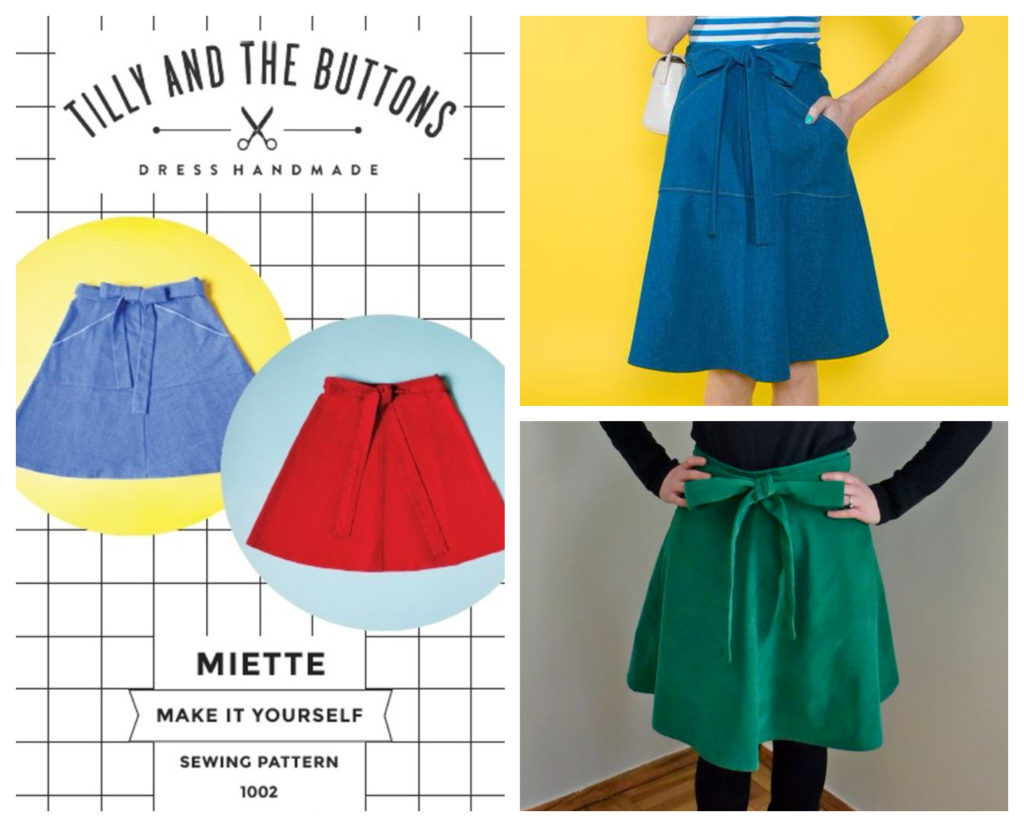 Miette Skirt sewing pattern