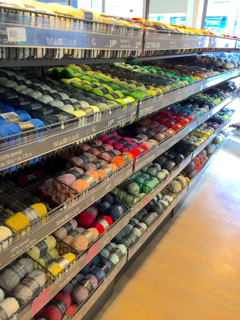 Wide range of cotton yarns