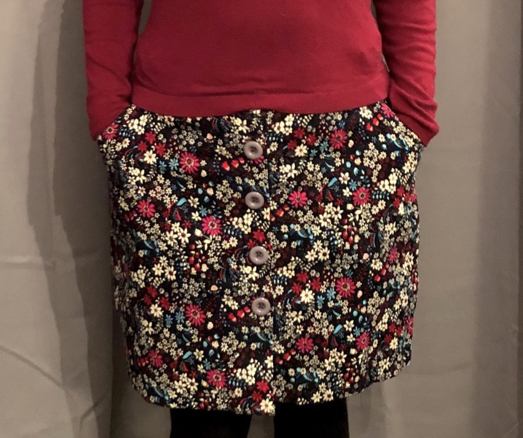 Sew Over It Erin button up skirt with pockets